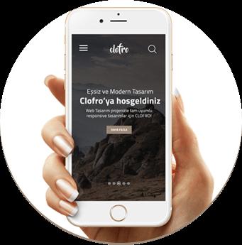 clofro web tasarım, responsive