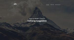 clofro web tasarım